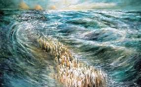 crossing the sea painting